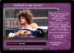 <i>Revolution</i> Carlito is In My Corner!